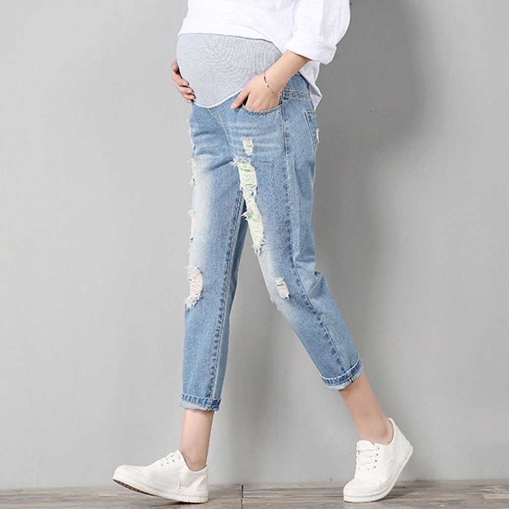 Women Maternity Jeans Maternity Pants Clothes For Pregnant Trousers Prop Nursing Belly Leggings Jeans Pregnancy Clothing Pants maternity jeans maternity nursing trousers for pregnant women pregnancy jeans pants maternity clothes for pregnant women e0037