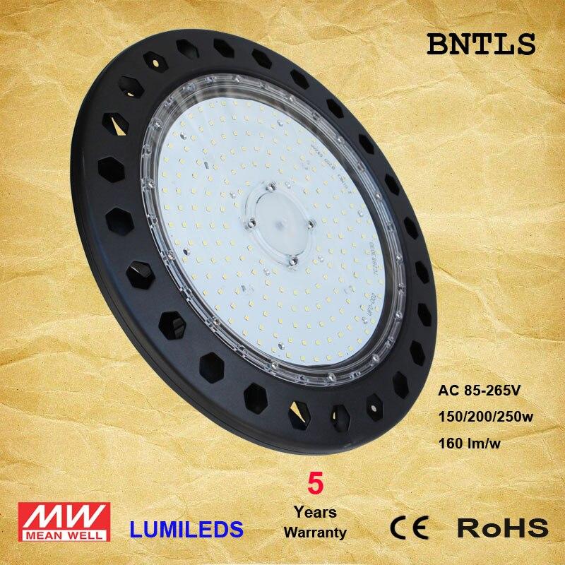 LED UFO High Bay Lights 150W 200W - LED Powered High Bays - (UL+DLC) (6000K)