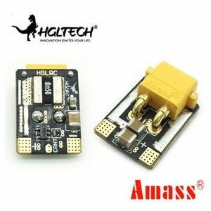 2pcs/5pcs HGLRC AMASS XT30 Plug 16.8V 4S 80A Power Module Micro Current Sonsor for RC Drone Spare Parts RC Models Accessories