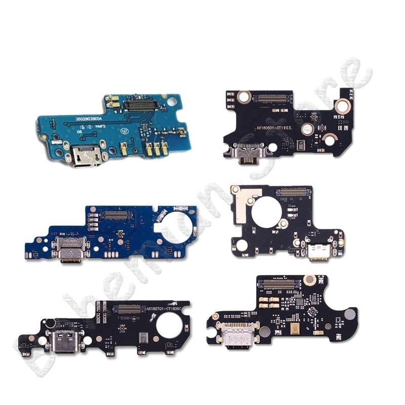 Cable flexible del conector del muelle del cargador del puerto de carga de la fecha del USB para Xiaomi mi 4 5 5X 5S Plus 6 6x8 8SE Lite de Flex