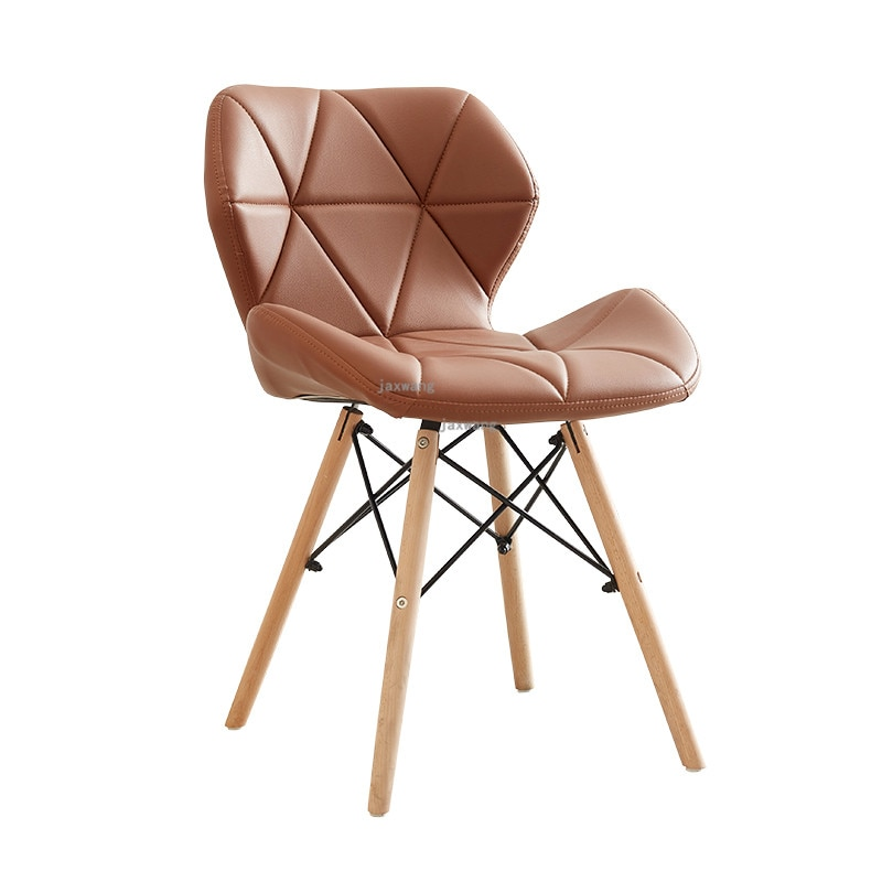Современный минималистичный белый стул Macaron креативный офисный домашний