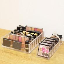Organizador de maquillaje acrílico transparente, organizador de cosméticos, Caja de almacenaje para utensilios de maquillaje, caja organizadora de cepillos y accesorios