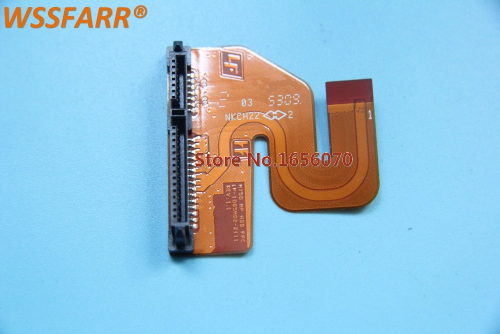 Envío Gratis HDD disco duro SATA Cable conector para sony M750 para VGN-SR SR16 SR18 MP HDD FPC 1P-1085M02-2111