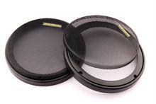 WLKE-boîtier de haut-parleur noir   2 pièces, boîtier de maille pour haut-parleur de 6.5 pouces avec Grille de protection, Grille de haut-parleur de 155mm pour son dair B