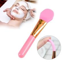 1Pc Professional Diamond Silicone Facial Mask Brush DIY Natural Contour Scrub Professional Women Ski