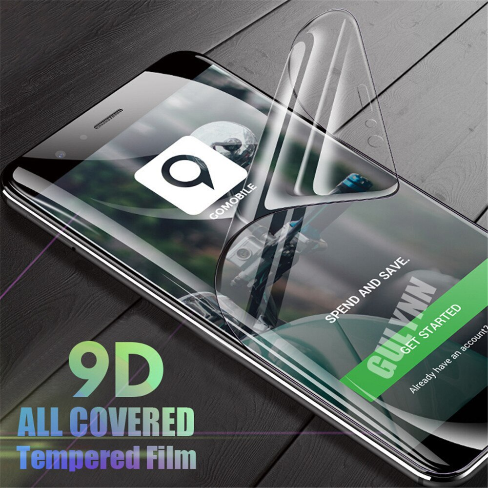 9D Full Cover Soft Hydrogel Film For Xiaomi Redmi 4X 5 5A 6 Plus Cover Screen Protector For Xiaomi Redmi Note 5 Pro Not Glass