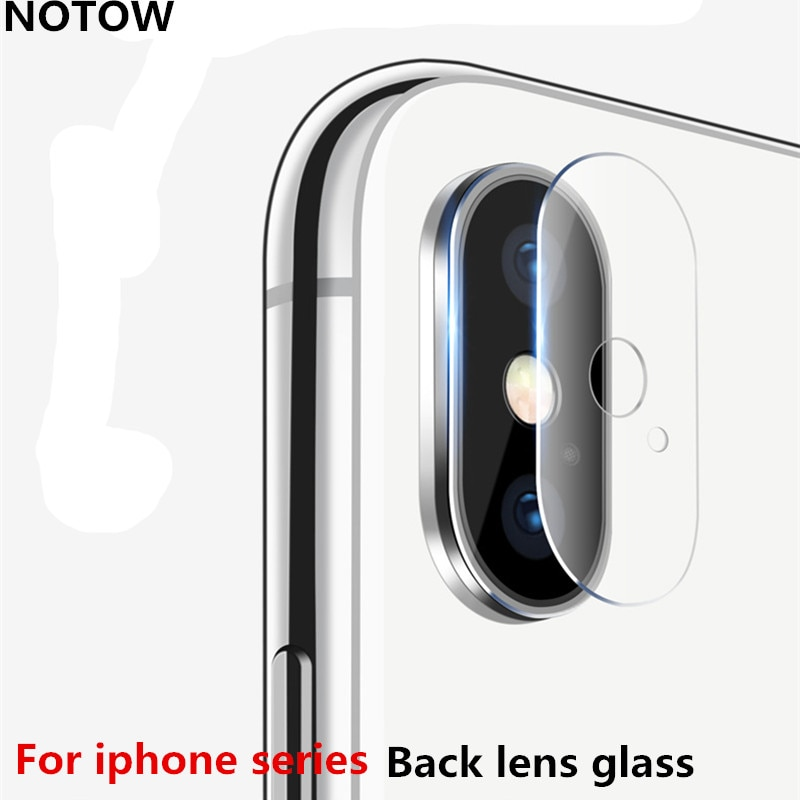 NOTOW 7.5H flexible Rear Transparent Back Camera Lens Tempered Glass Film Protector Case For iphoneX