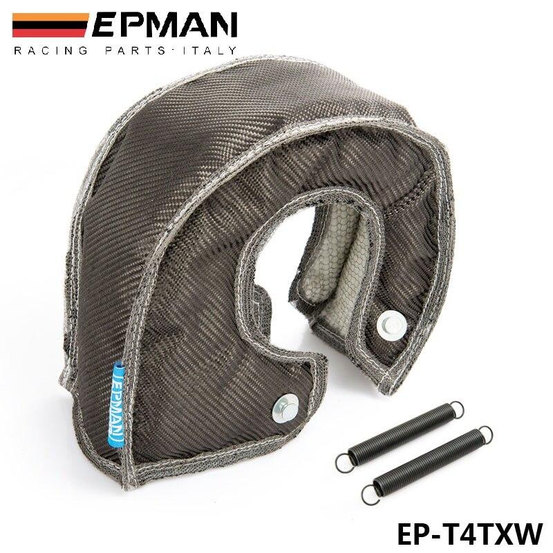 EPMAN, cubierta de protección térmica Turbo de fibra de carbono, alto rendimiento para T4 GT45 GT40 GT47 EP-T4TXW