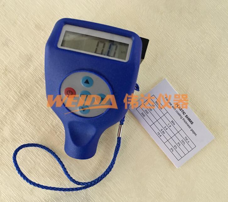 WD-810F ، 810NF ، 8102 المتكاملة قياس سمك الطلاء قياس سمك سمك المقياس