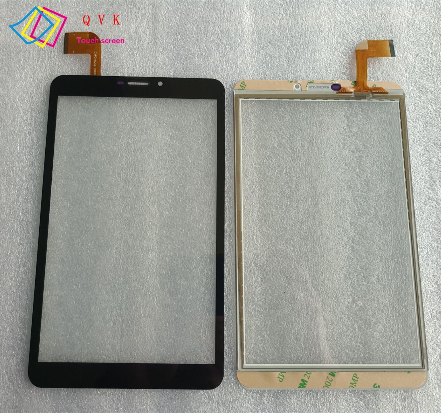 Noir 8 pouces pour Irbis TZ877 TZ 877 TZ877t tablette pc capacitif écran tactile verre numériseur panneau livraison gratuite
