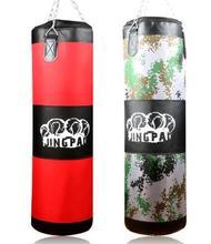 Nouvel ensemble! 100 cm entraînement Fitness MMA sac de boxe sable poinçon sac de frappe sac de sable (vide) adulte gant en polyuréthane enfants jouant sacs de sable