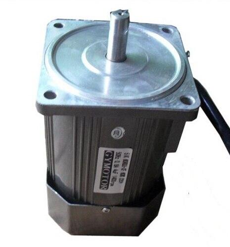 Motor monofásico de 220V CA 90W, de velocidad regulada sin caja de cambios. Motor de alta velocidad AC,