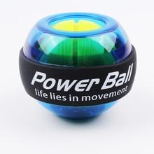 Arcobaleno LED Muscolare Power Ball Polso Allenatore Palla Relax Giroscopio PowerBall Giroscopio Adduttori Del Braccio Ginnico Attrezzature Per Il Fitness