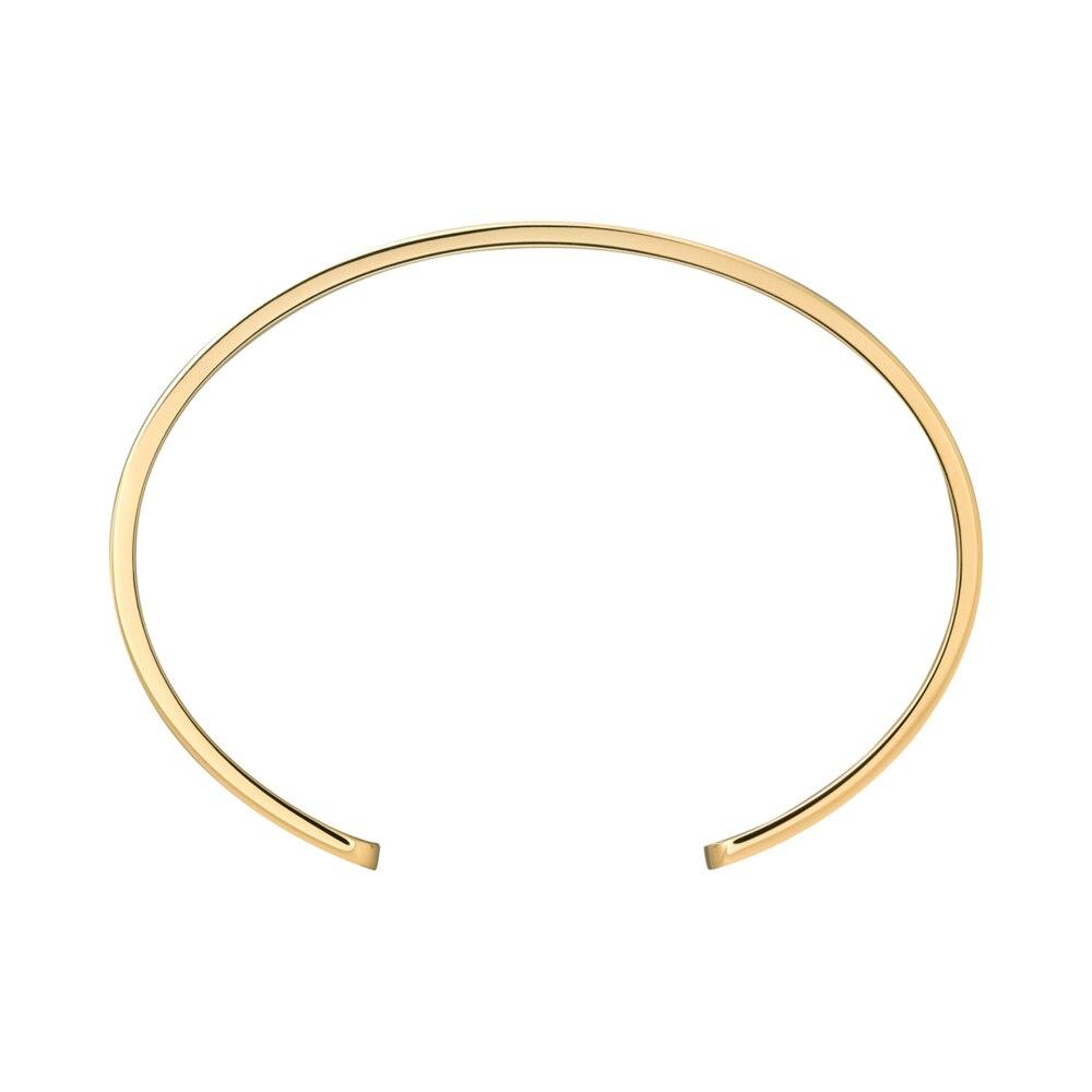 Pulsera de acero de titanio con tornillo de línea Horizontal, brazaletes de amor, pulseras con tornillo en forma de C para mujer y hombre