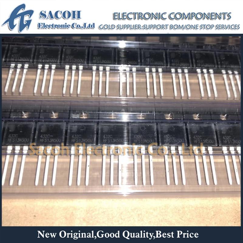 Envío gratis 10 Uds HFS13N50U HFS13N50S HFS13N60U HFS13N65U TO-220F 13A 500V Transistor MOSFET