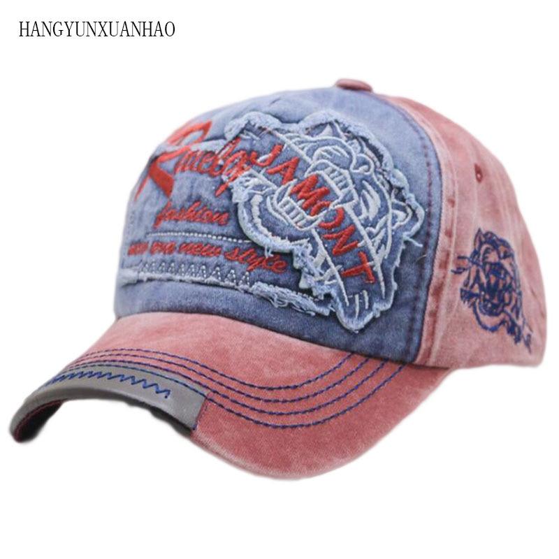 Baseball Cap Snapback Women Embroidered Canvas Dad Hat Hip Hop Rcok Roll Gorras Bone Masculi Men Cotton Baseball Caps недорого