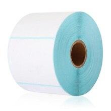 Étiquettes HPRT étiquette papier dimpression thermique 60*50*750 pièces étanche code à barres impression papier autocollant étiquette impression papier