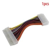 New ATX 20 Pin Female to 24 Pin Male Internal PC PSU Power Adaptor Cable ~