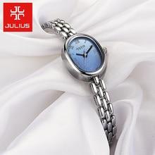 New Julius Lady Woman Wrist Watch Fashion Hours Dress Chain Bracelet Elegant Lovely Business Girl Valentine Birthday Gift JA-861