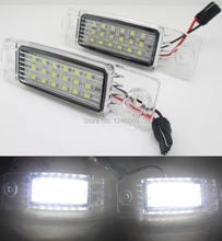 Lámpara de matrícula 18LED para Toyota Herrer 98 ~ 03 Highlander 09 ~,RAV4 05 ~,Hiace Regiusace Vanguard 2004-2012