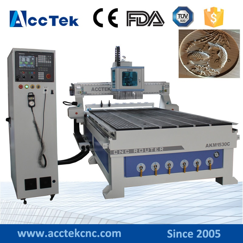 220v automatic cnc programming winding machine ATC CNC router 1530 cnc milling machine automatic tool changer automatic 3d wood carving cnc router