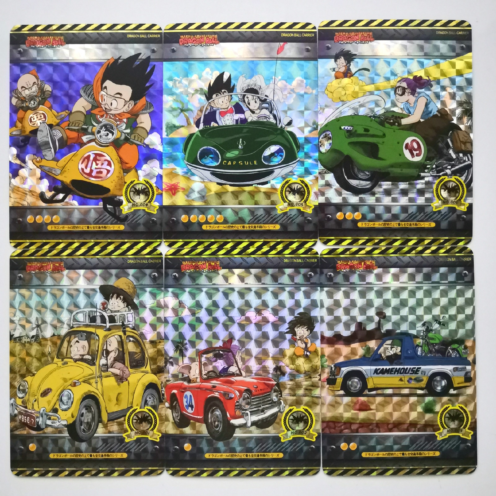 18 pçs/set Super veículo No.1 Heróis De Dragon Ball Z Goku Vegeta Super Coleção de Cartões de Jogo de Cartas De Batalha