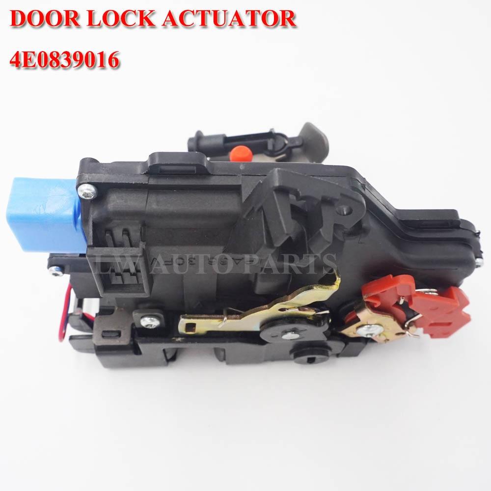 Cerradura de puerta trasera derecha para Audi A8 D3 4E qu 02-05 4E0839016 4E0839016A