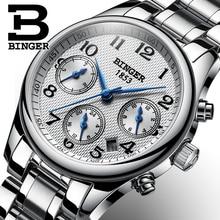 Suisse BINGER femmes montres marque de luxe japon mouvement à Quartz montre étanche Relogio Feminino saphir horloge B-603W-1
