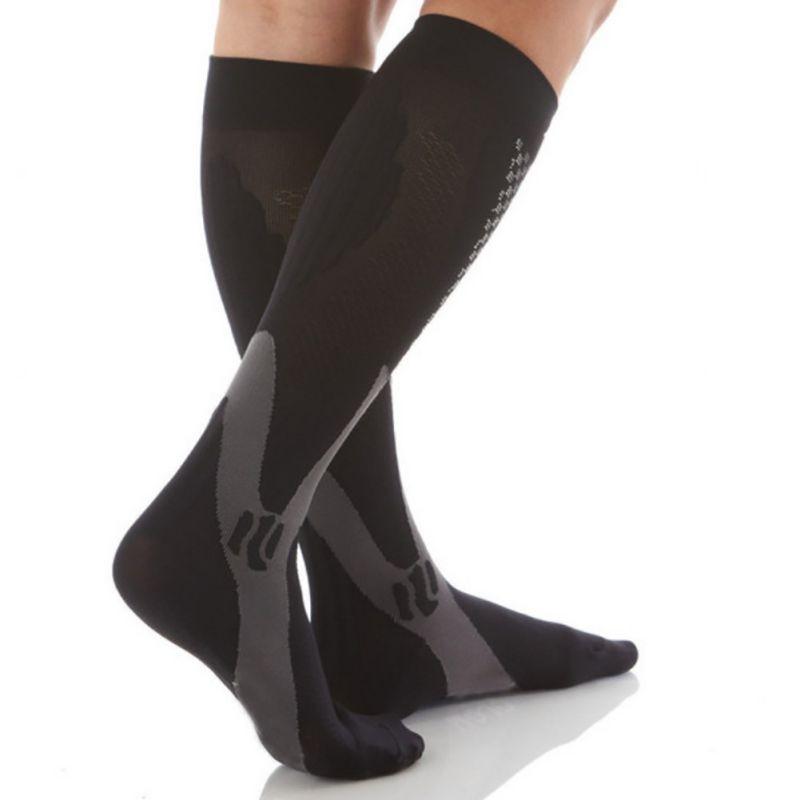 ROPALIA Men Women Leg Support Stretch Compression Socks Below Knee Socks