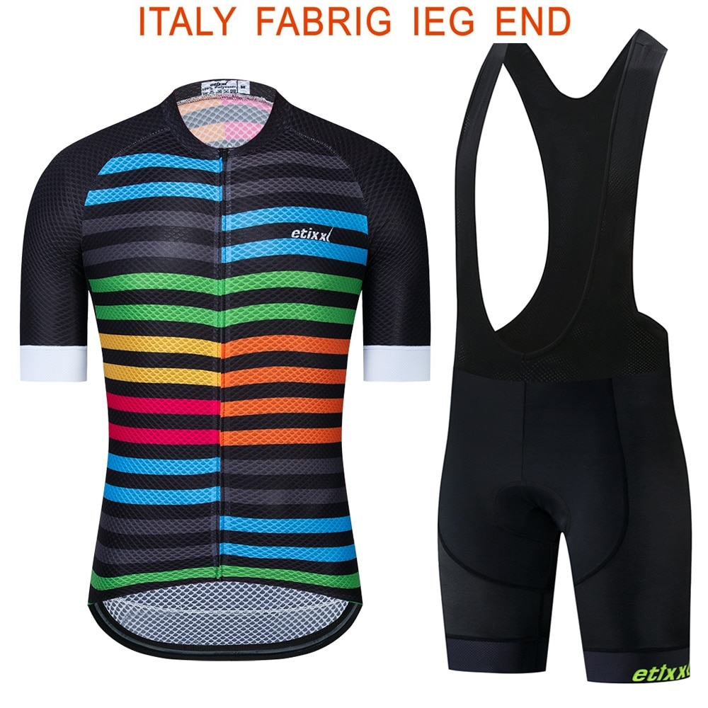Pro Team etixxl-Ropa de Ciclismo para hombre, pantalones cortos de ciclismo para carretera
