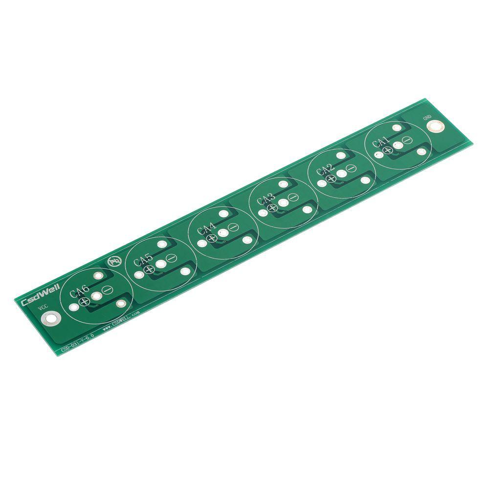 NEUE 1 STÜCK Sechs In Serie MaxWell 350F 2,7 V T11 Superkondensator Balance Board kondensator bord