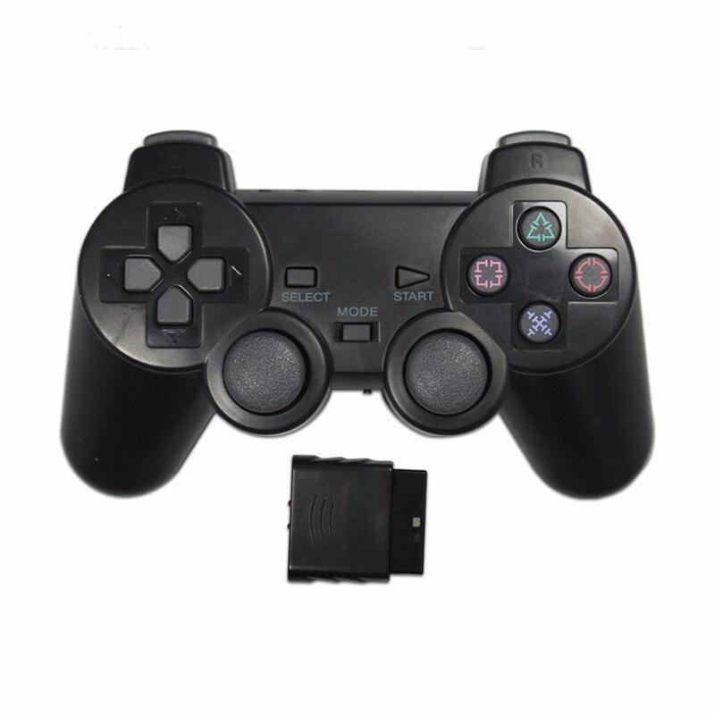 EastVita прозрачный цветной беспроводной геймпад для Sony PS2 2,4G виброджойстик Blutooth контроллер для Playstation 2 Joypad