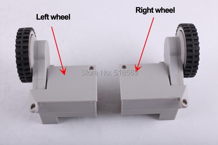 (A320/A325/A330/A335/A336/A338/A590) רובוט שואב אבק גלגל כולל שמאל גלגל עצרת x 1pc + ימין גלגל עצרת x 1pc
