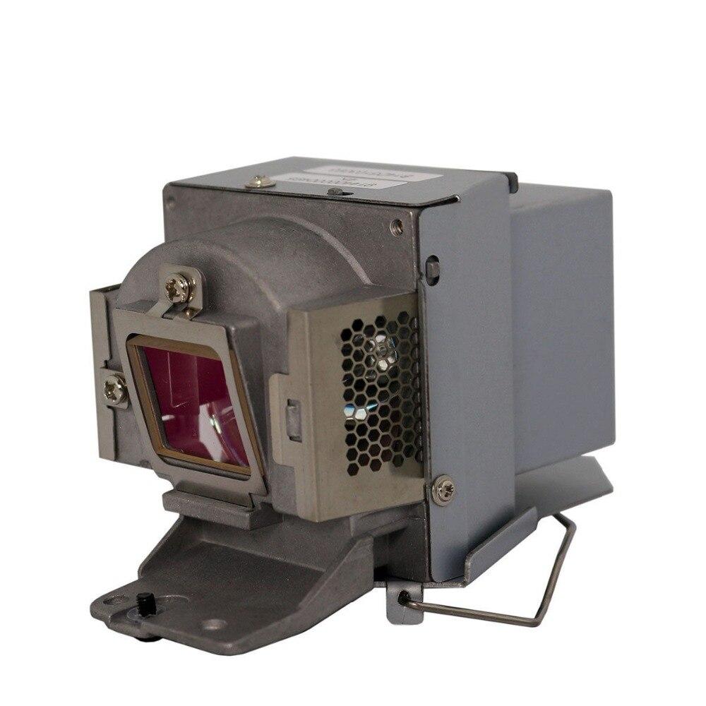 Bombillas para proyector con carcasa 5J.J6D05.001 para BENQ MS502 MX503