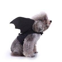 Costumes Halloween ailes de chauve-souris   Harnais, tenues de chien, vêtements Cosplay pour petits chiens chats
