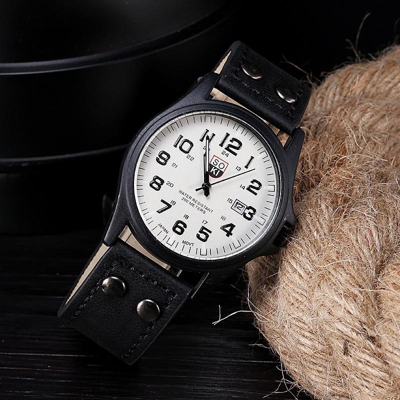 Reloj de pulsera de cuarzo de moda para hombres, reloj de lujo, reloj de Patten japonés para hombres, reloj deportivo militar