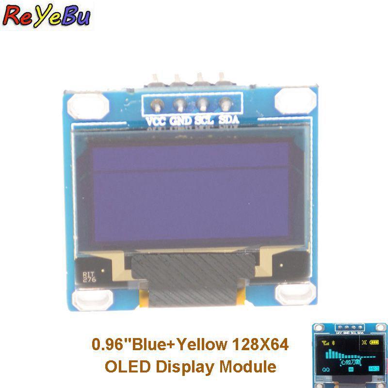 Светодиодный модуль с дисплеем 0,96 дюй�