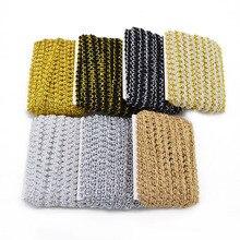 500*0.8cm Vintage Chinlon coton ruban dentelle bord garniture ceinture Applique tissu matériel de couture travaux manuels maison fête robe de mariée