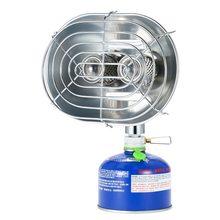 BRS-H22 Double tête chauffage extérieur Portable cuisinière à gaz chauffage cuisinière pêche en plein air Camping infrarouge Ray réchauffeur chauffage cuisinière à gaz