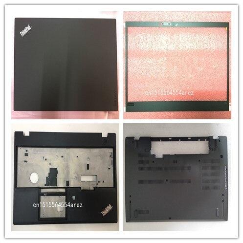 Novo original lenovo thinkpad t580 p52s lcd caixa traseira/moldura lcd quadro/apoio de mãos/base inferior capa 01yu625 01yr480 01yt267 01yr458