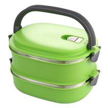Boîte isolante en acier inoxydable   Boutique pratique, conteneur de stockage des aliments, Thermo Server essentiels, Double couche thermique