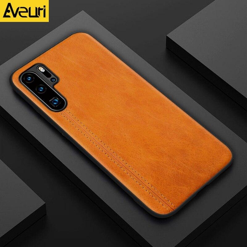 Capa de celular luxuosa de couro, para huawei y5 y6 y7 y9 prime 2019 p smart plus 2019 nova 5t 3 capa coque inteligente z 3i 4 5z 5 5i pro p