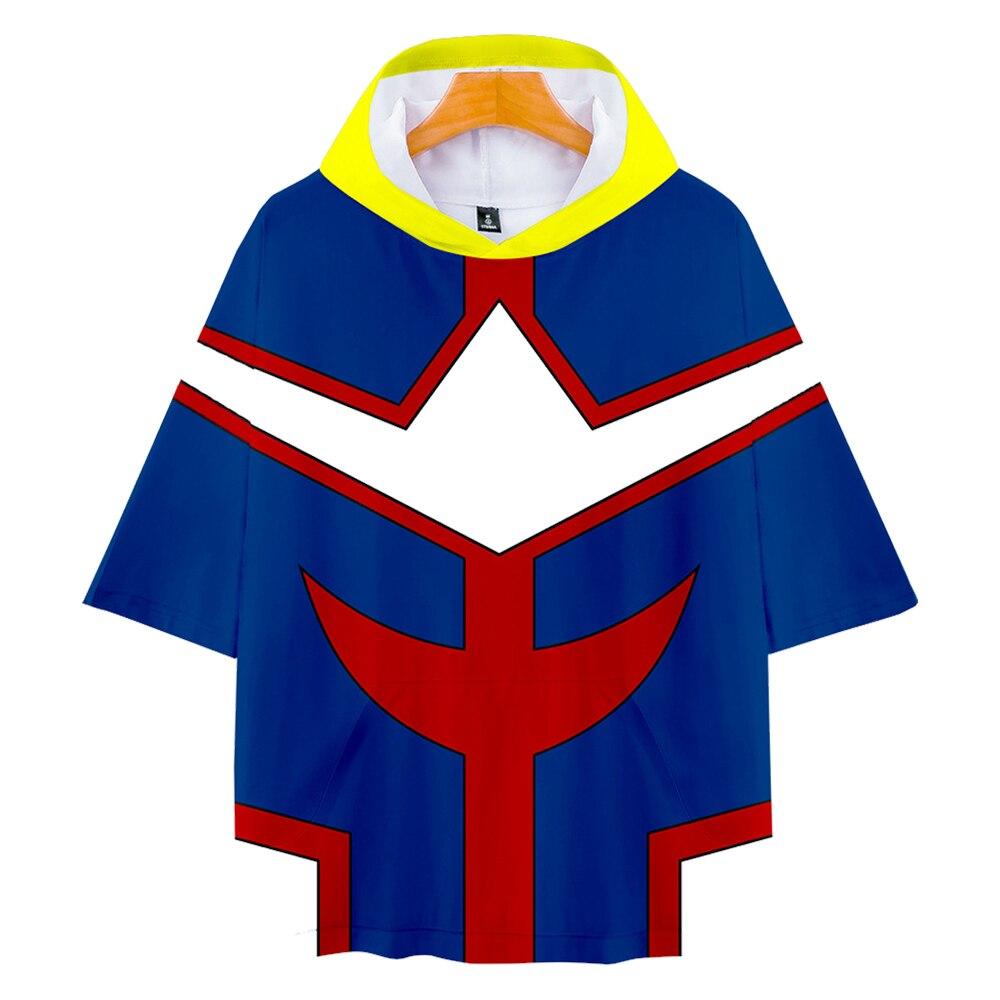 Mi héroe Academia camisetas, todo podría bakugou katsuki millones de Midoriya Izuku OCHACO URARAKA Todoroki Shoto T camisa