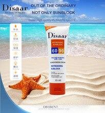 2 pièces crème solaire Spf 90 + + hydratant protège la peau Sunblock 80g soins du visage prévient les dommages de la peau, élimine les taches de Pigmention
