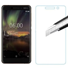 9H Tempered Glass For Nokia 6 2018 Phone Cover Explosion-proof Screen Protector Film For Nokia 6 201