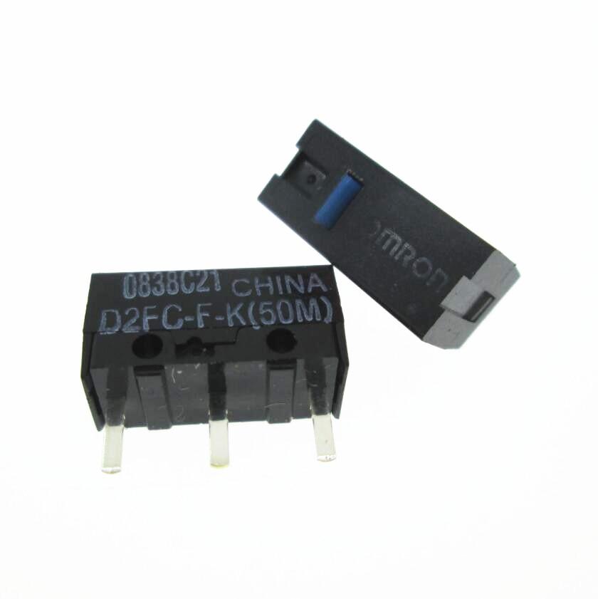 NOVO switch D2FC-F-K (50 m) D2FCFK D2FC-F 50 m rato interruptor micro 20 pçs/lote