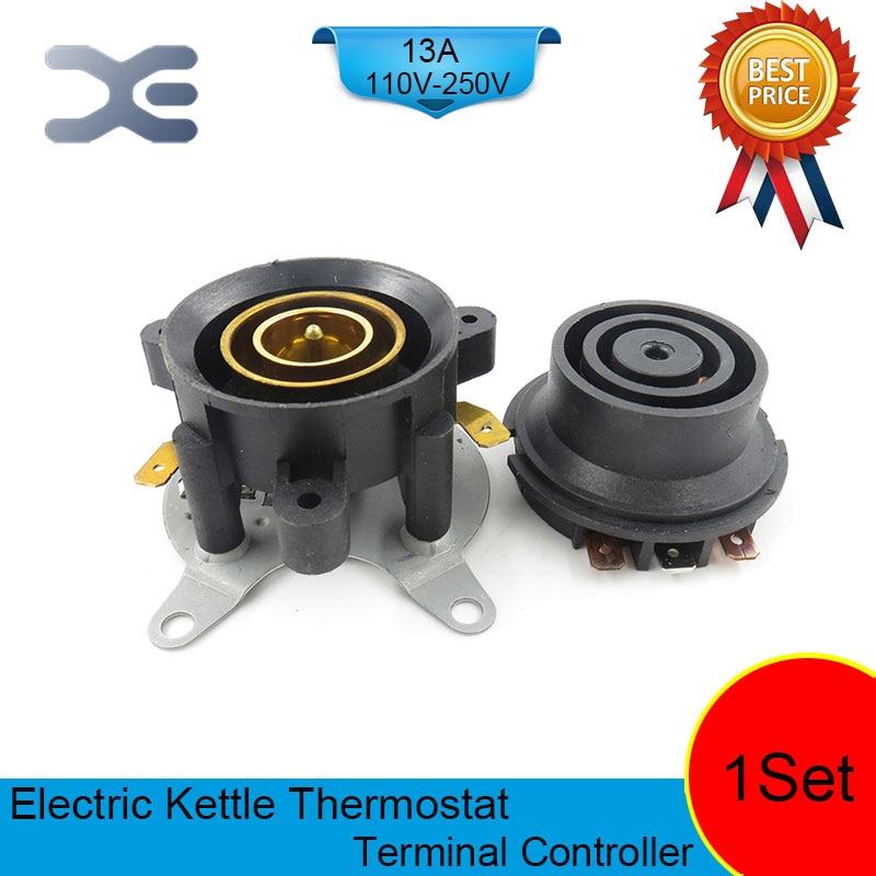 T125 13A 110-250V NC терминальный контроллер Новый чайник термостат неиспользованные запасные части для электрочайника EK1708