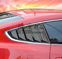 Fit for FORD MUSTANG carbon fiber Side door trim / Mustang carbon fiber window / door / window side trim