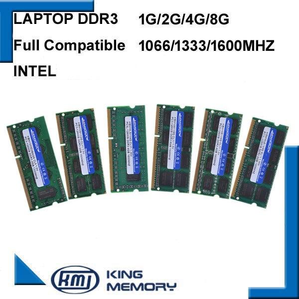 KEMBONA חדש מותג אטום DDR3 1066 Mhz/1333 Mhz/1600 Mhz 2 GB/4 GB/8 GB 204-Pin SODIMM זיכרון Ram עבור מחשב נייד מחברת 1.35/1.5