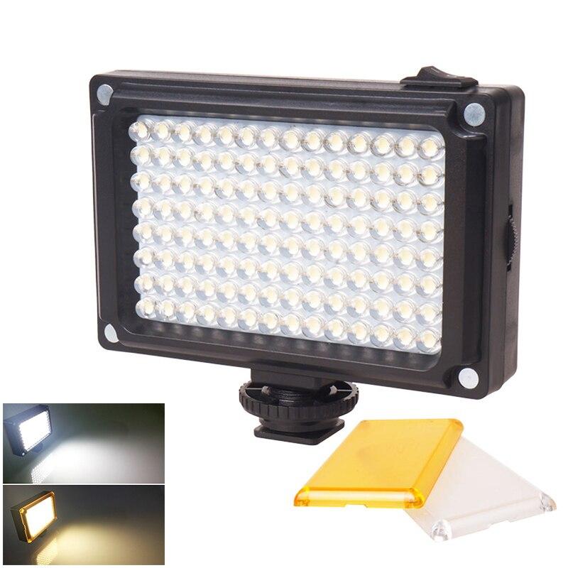Portable 112 LED Video luz regulable recargable Panal lámpara para cámara DSLR boda grabación JLRL88